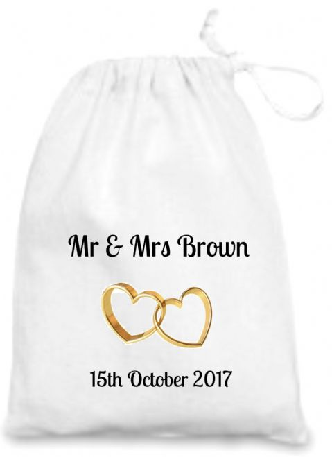 Wedding Rings Gift Bag 2